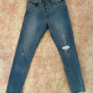 Levis wedgie skinny denim jeans